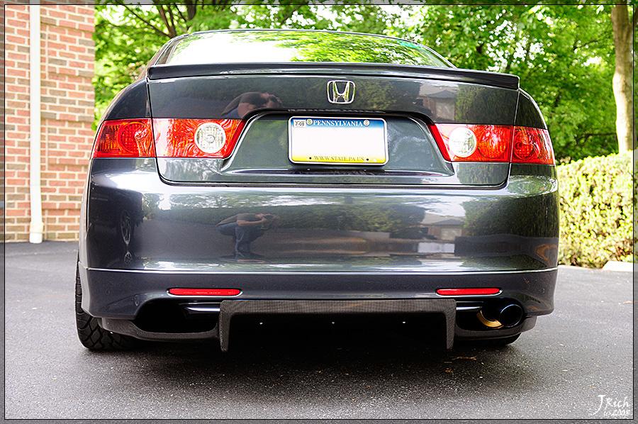 Replica J's rear Diffuser anyone? - Page 8 - Acura TSX Forum